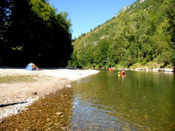 A vendre en Occitanie camping au coeur de la nature