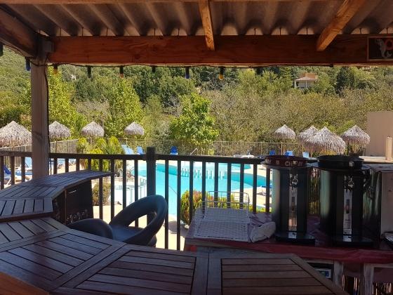 Occitanie, à vendre camping  au coeur du parc naturel