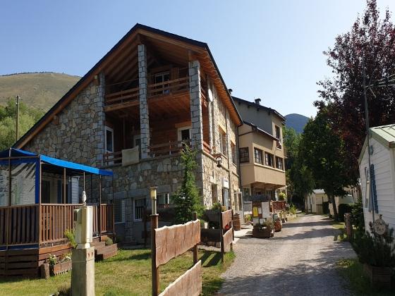 Pyrénées, camping montagne à la vente