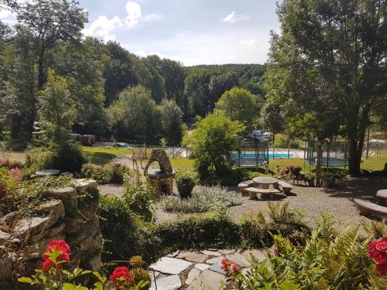 A vendre, camping Haut Languedoc