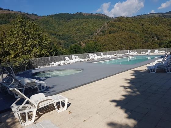 A vendre en Occitanie, camping dans un très beau cadre naturel