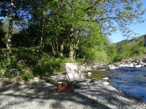 A vendre camping de l'arrière-pays Languedocien,