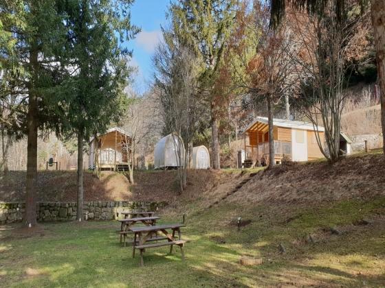 Hauts plateaux d'Occitanie, camping à vendre